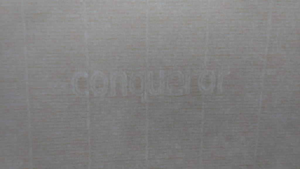 Conqueror Laid - Watermark